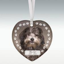trail porcelain pet memorial ornament
