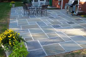 Slate Rock Patio by 17 Blue Flagstone Patio Electrohome Info