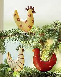 funky chicken tree ornaments buy from gardener s supply