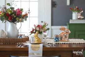 Eclectic Decorating by An Eclectic And Colorful Easter Table Inspired By Charm