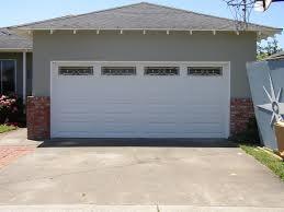 top garage doors with garage door style double garage door image 3