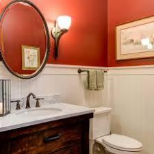 Bathrooms With Beadboard Orange Bathroom Photos Hgtv