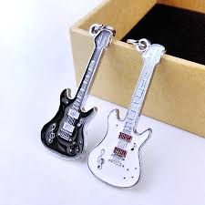 unique keychain aliexpress buy 1 pair 2016 new unique cool metal guitar key