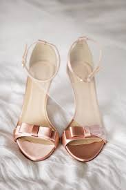 schuhe f r hochzeit 10 best rosegold shoes images on heels zapatos and