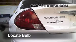 2010 ford taurus aftermarket tail lights tail light change 2000 2007 ford taurus 2002 ford taurus se 2