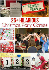 the best collection of 25 awesome christmas party games lots of