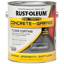 rust oleum epoxyshield 1 gal battleship gray concrete floor paint