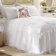 Skirted Coverlet Comforters Quilts U0026 Bedspreads Luxury Sets Midnight Velvet