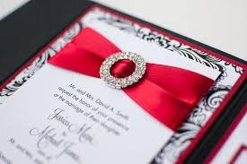 Black Wedding Invitations Burgundy Red Black Pearl Bow Wedding Invite 17 Best Ideas About