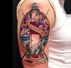 kris magnotti tattoo artist lighthouse tattoo koi tattoo