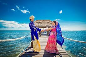 Indian Wedding Decorators In Ny A Beachside Indian Destination Wedding Mexico