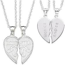 engraved pendants personalized sterling silver breakable engraved
