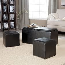 coffee table simpli home avalon slate grey storage ottoman ay f 07