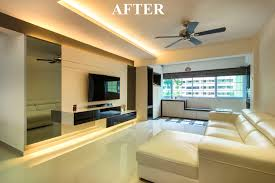completed renovation project hdb 5 rooms at bedok