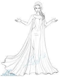 frozen queen elsa sewfashion deviantart