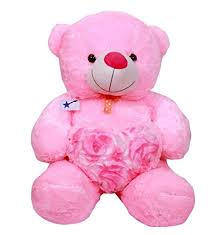 buy soft teddy bear sweet pink color teddy bear 3 feet