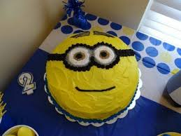 despicable me minion cake my daughters 2nd birthday party