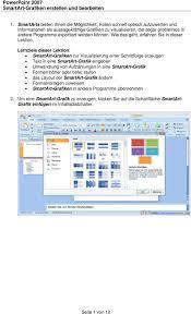 powerpoint design zuweisen powerpoint 2007 smartart grafiken erstellen und bearbeiten pdf