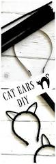 cat ears diy fun halloween crafts diy costumes and cat ears
