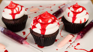 how to make edible fake blood u0026 bloody halloween cupcakes from