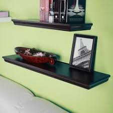 Espresso Floating Shelves by Victorian Tri Wall Shelves Cube Displaying Shelf Set Of 3 White