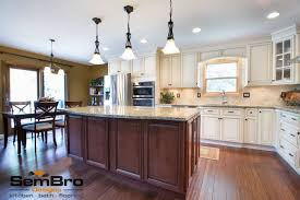 signature pearl with brownstone kitchen