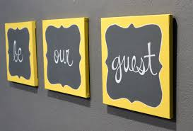 be our guest canvas painting set guest room wall by goldenpaisley wall decor for guest bedroom wall decor for guest bedroom be our guest canvas
