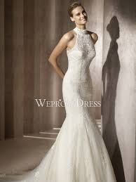 high neck wedding dresses high neckline lace wedding dresses wepromdresses net