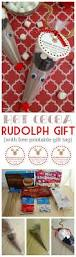 rudolph cocoa free printable gift tag recipe free
