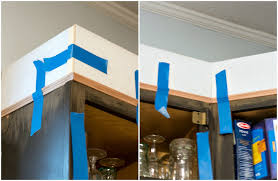 adding toppers to kitchen cabinets to add height to kitchen cabinets