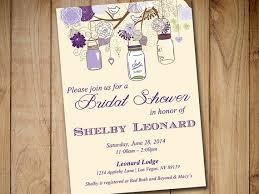 rustic bridal shower invitations rustic bridal shower invitation template jar wedding