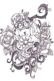 sugar skull tattoo sugar skulls and sugar skull tattoos