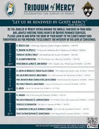 you are invited to celebrate diocese of camden u2013 triduum of mercy jubilee of mercy