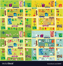 Map Pattern City Map Royalty Free Vector Image Vectorstock
