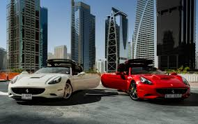 Ferrari California White With Red Interior - rent ferrari california white 2014 dubai uae