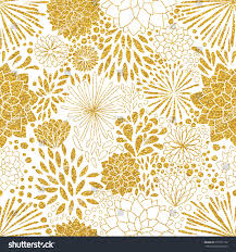 floral gold ornament vector gold seamless stock vector 371627152