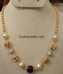 light weight gold necklace designs light weight gold necklace jewellery designs