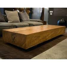 Rustic Teak Coffee Table Rustic Solid Oak Coffee Table For Interior Design Live Edge Table