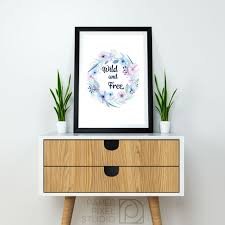 free printable art home decor wild and free printable art wall art home decor flower wreath