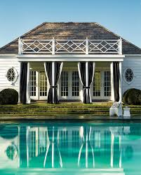 white house curtains with pool traditional and white outdoor