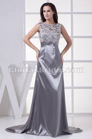 silver dresses for wedding wedding lace silver dress in the trend of the year gossip style