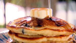 blueberry pancake recipe blueberry brunch pancakes food network