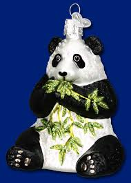 world panda ornament