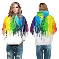 aliexpress com buy rainbow paint drops femme skateboarding