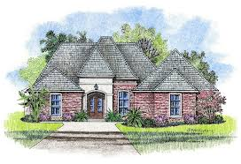 justin country french home plans louisiana house plans