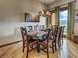 andreas dining room long valley luxurious dual masters two family rooms vrbo