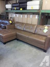 dr sofa reviews smileydot us martino 2 pc all leather sectional new 1099 00 brown or cafe color choice americanlisted 37518729 jpg