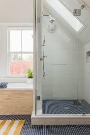 cambria quartz shower walls and bathtub bathroom contemporary with