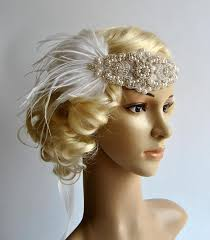 1920s headband 1920 s rhinestone pearls flapper headband bridal