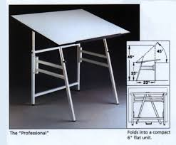 Oak Drafting Table by Drawing Tables